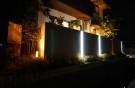 夜の照明 岡山