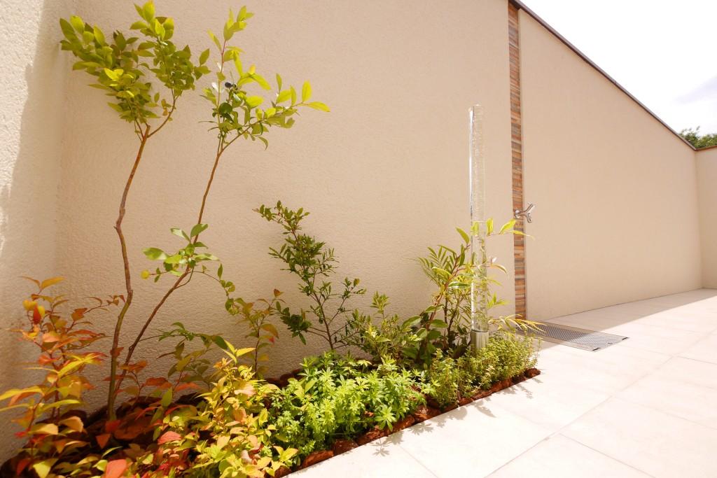 素敵な壁デザイン 岡山外構