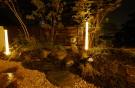 夜の坪庭 赤磐市