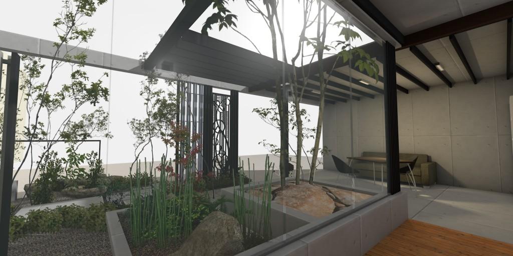 p-2 木漏れ日のモダン住宅 - 画像 # 19